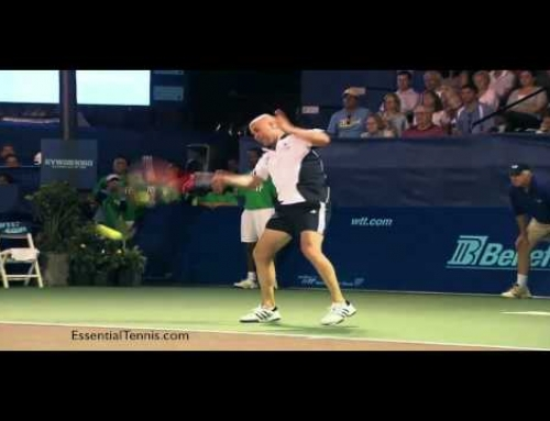 Andre Agassi Forehand Technique Analysis