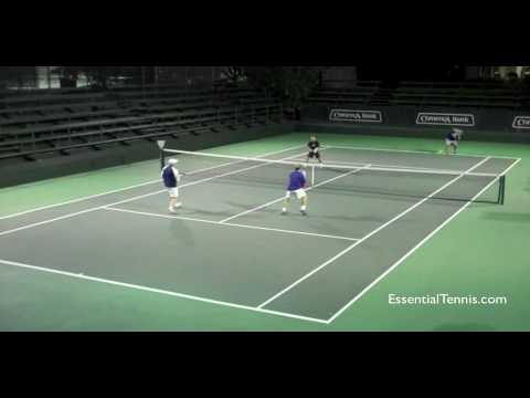 an analysis of the topic of the serve and volley in the tennis world