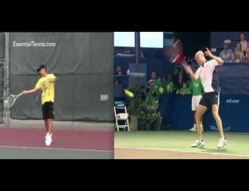 Agassi Forehand Technique Analysis