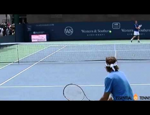 Andy Murray Crushes a Flying Insect in Mid-Air