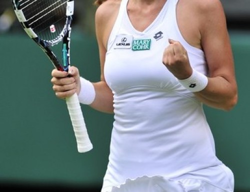 Radwanska will meet Serena Williams in 2012 Wimbledon final