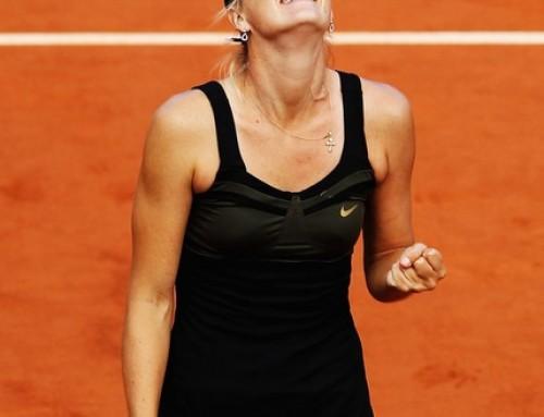 Women's French Open final set – Sharapova vs. Errani