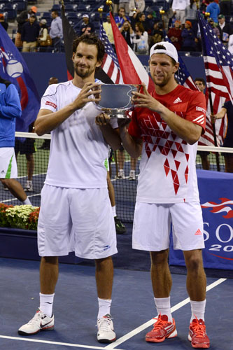 US Open Men's Doubles Winner: Jurgen Melzer and Philipp Petzschner