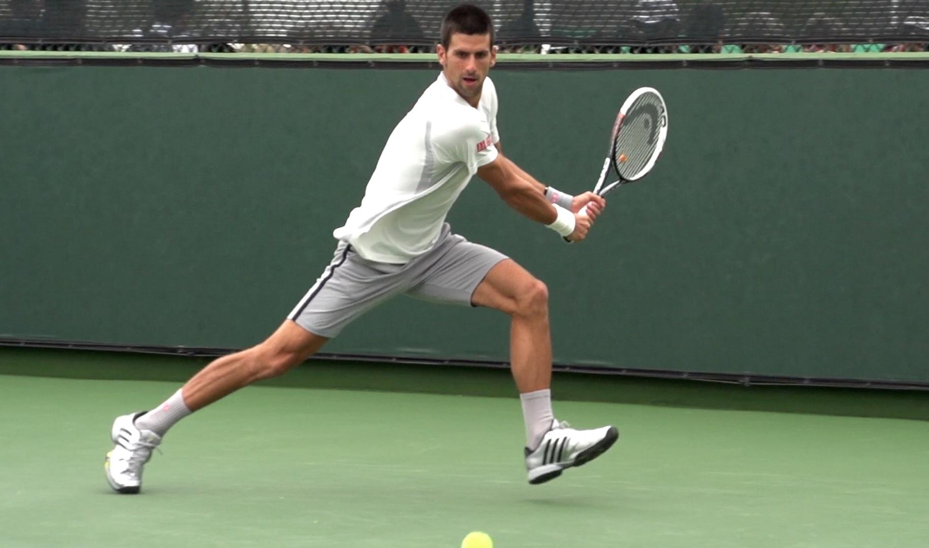 Novak Djokovic in Super Slow Motion