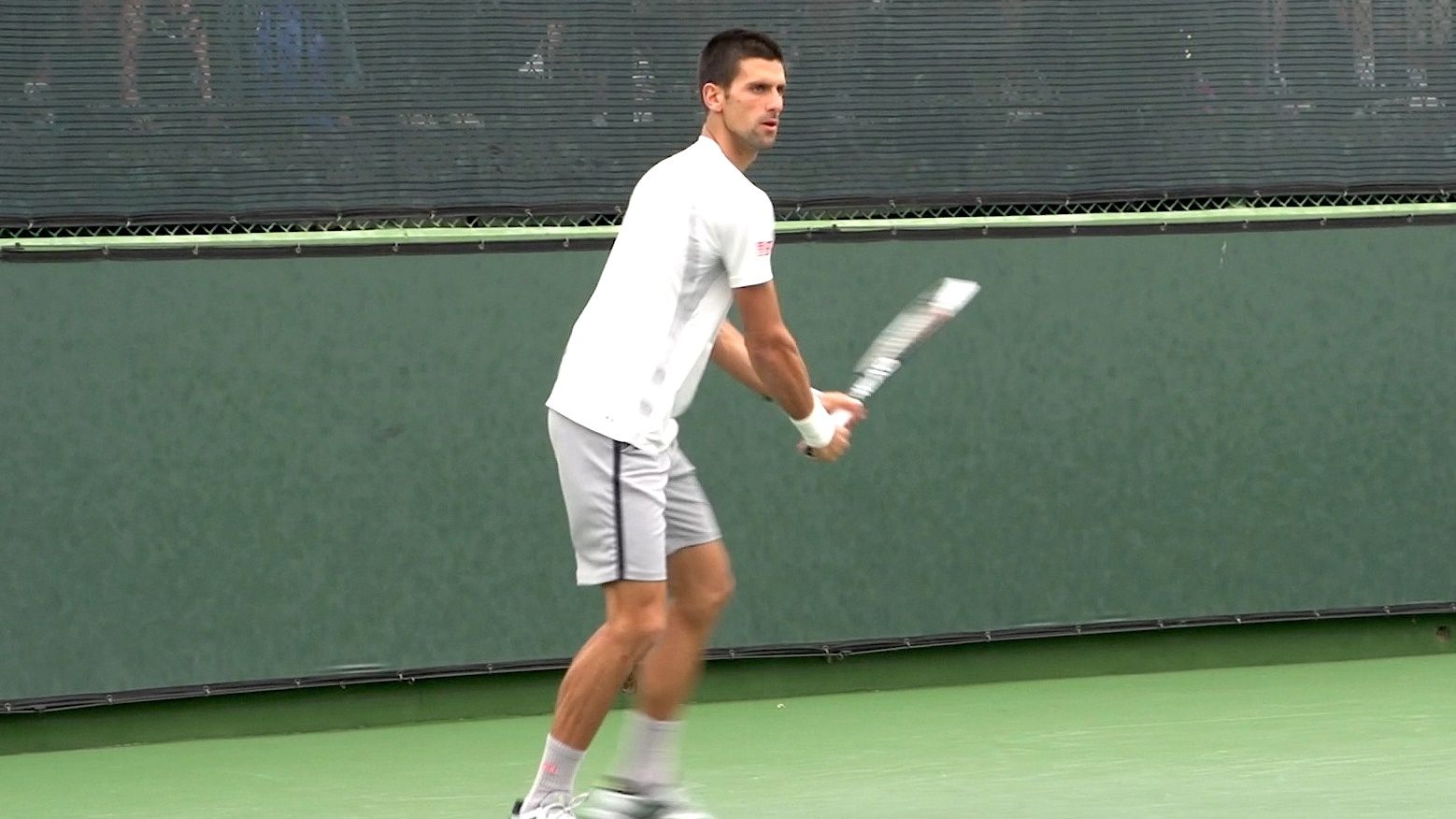novak-djokovic-backhand - Free Tennis Lessons from Essential Tennis ba8111184c9af