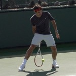 Roger Federer Between the Legs in Slow Motion