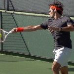 Roger Federer Forehand in Slow Motion