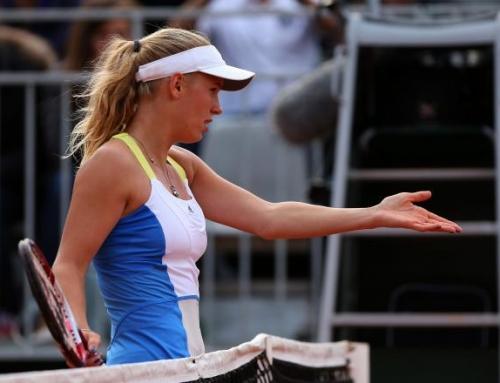 Wozniacki ousted by Jovanovski at 2013 French Open