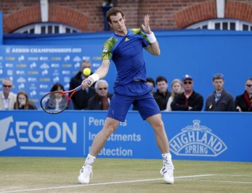 Federer and Murray reach finals of grass tuneups