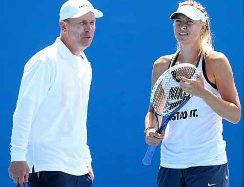 Maria Sharapova splits with coach Hogstedt