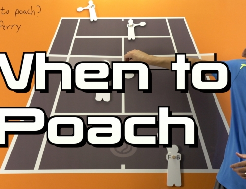 Doubles Strategy – When to Poach