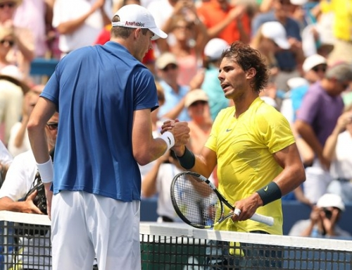 The strategies of Isner-Nadal Cincy final