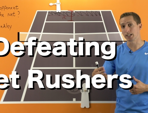 Defeat a Net Rusher – Singles Strategy
