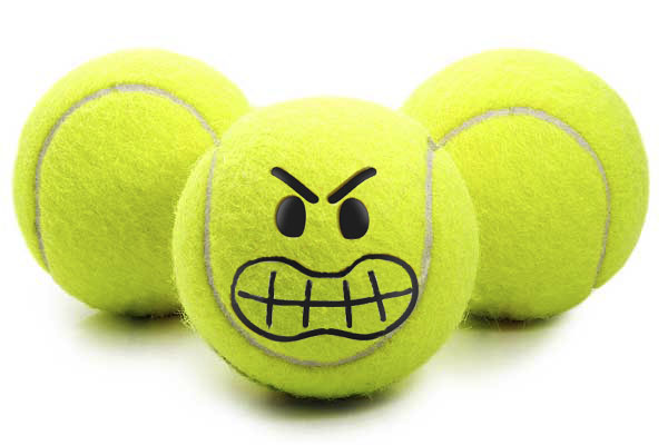 Who Is The Mentally Toughest Player? Angry-Tennis-Balls