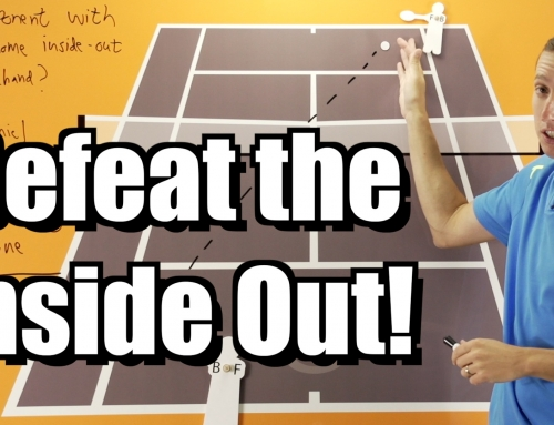 Defeat the Inside Out Forehand – Singles Strategy Lesson