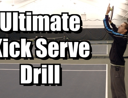 Ultimate Kick Serve Drill