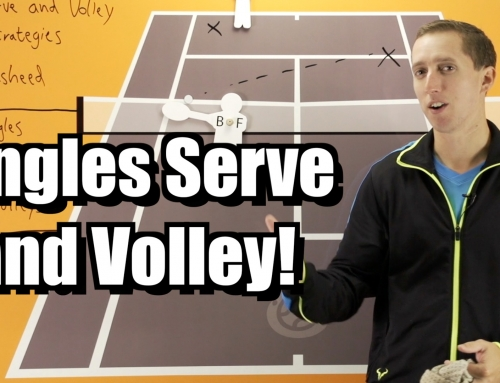 Singles Serve and Volley Strategy