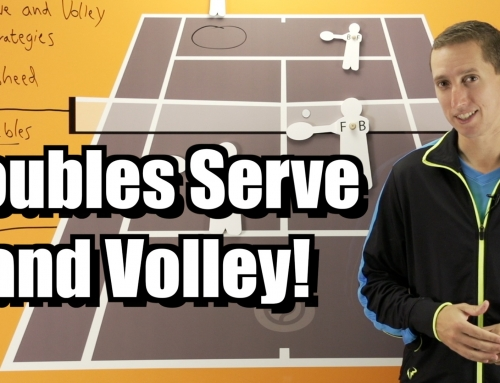 Doubles Serve and Volley Strategy