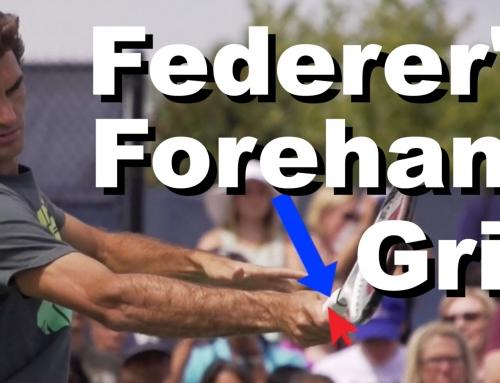 Roger Federer's Forehand Grip Revealed