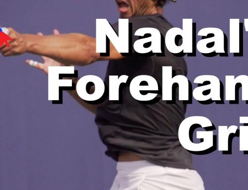 Rafael Nadal's Forehand Grip Revealed