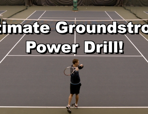 Ultimate Groundstroke Power Drill
