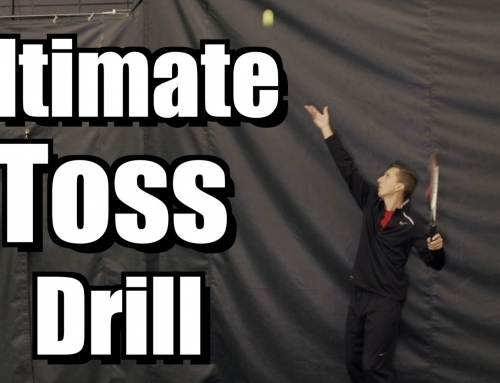 Ultimate Serve Toss Drill