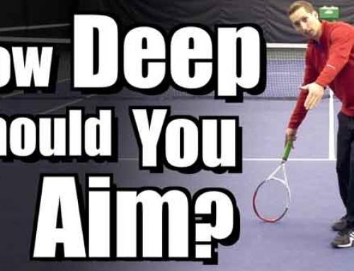 How Deep Should You Aim Groundstrokes?