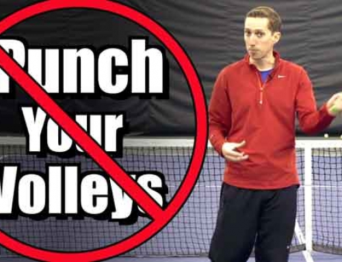 Don't Punch Your Volleys!