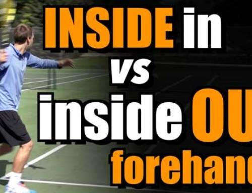 Inside In vs. Inside Out Forehand