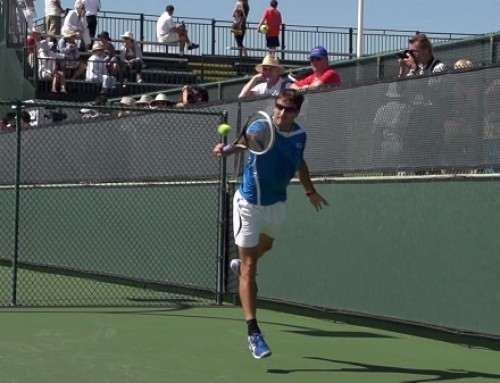 Tommy Robredo Backhand In Super Slow Motion – Indian Wells 2013 – BNP Paribas Open