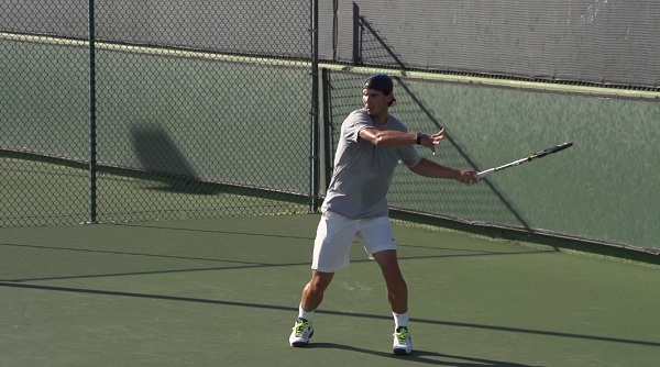 08 Rafael Nadal Forehand In Super Slow Motion 6 Free Tennis Lessons From Essential Tennis