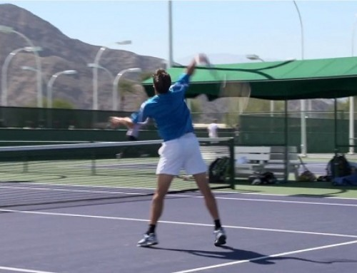 Tommy Robredo Forehand, Backhand, Volley and Overhead – Indian Wells 2013 – BNP Paribas Open
