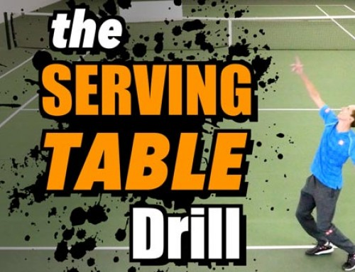 The Serving Table Drill
