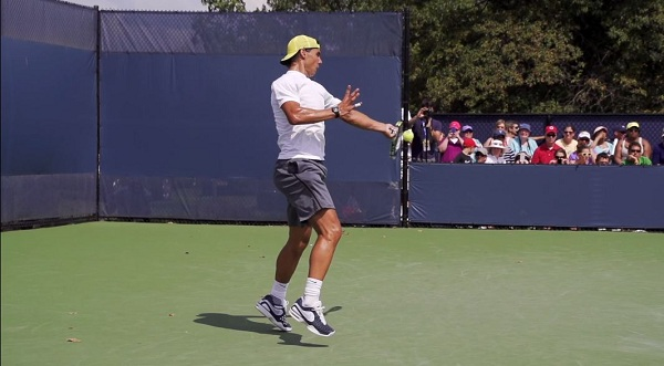 Rafael Nadal Forehand And Backhand In Super Slow Motion 3 2013 Cincinnati Open