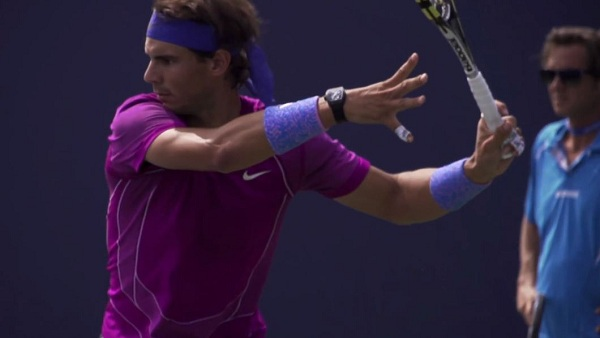 19 Rafael Nadal Forehand In Super Slow Motion 2013 Cincinnati Open Free Tennis Lessons From Essential Tennis