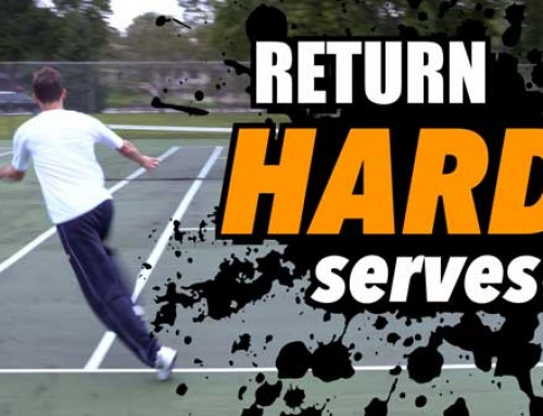 How to Return HARD Serves