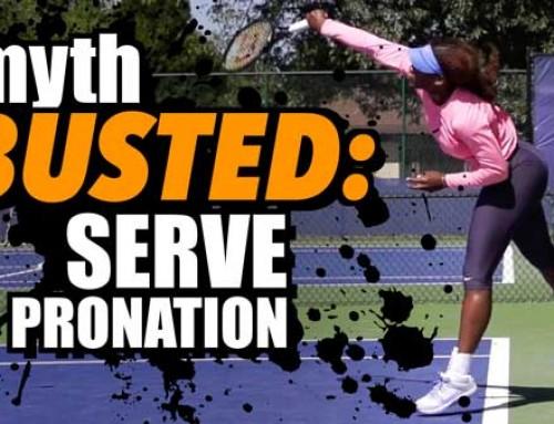 Myth Busted: Serve Pronation 2.0