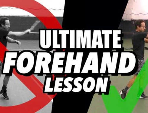 ULTIMATE Forehand Tennis Lesson – Consistency + Spin