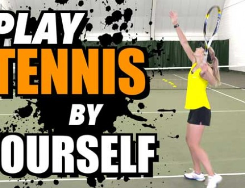 How To Play Tennis By Yourself