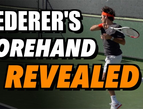 Roger Federer Forehand Revealed + Free Download