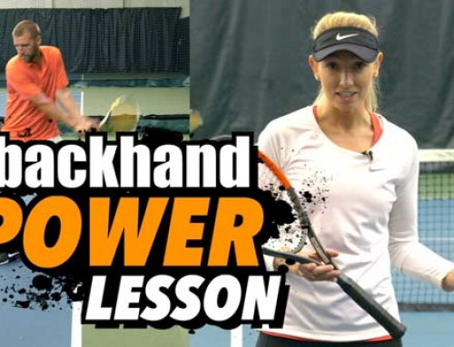 Backhand POWER Lesson: ADD 5-10 mph to your BACKHAND