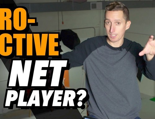 Proactive Net Play In Tennis – Ask Ian #80