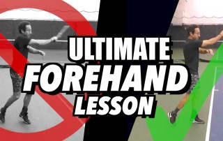 Ultimate Forehand Lesson