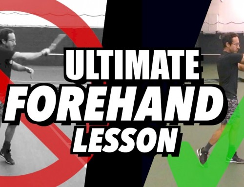 Forehand Tennis Lesson – Ultimate Consistency + Spin