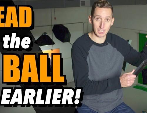 Read the Ball EARLIER in Tennis – Ask Ian #79