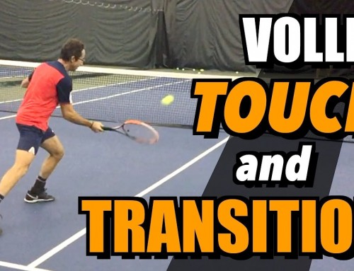 Tennis Volley Lesson – Touch and Transition – Drills and Tips