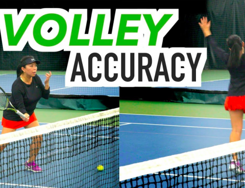 HOW TO HIT YOUR TARGET | Volley Accuracy & Control Tennis Lesson