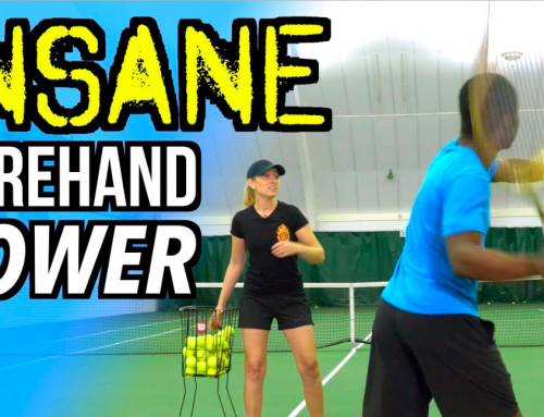 4 WAYS to CREATE INSANE POWER ON YOUR FOREHAND