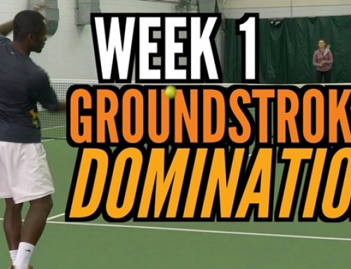 Transform your Tennis Game in 30 Days – Week 1: Groundstroke Domination