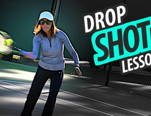 How to Hit a DROP SHOT – Touch Shot Tennis Lesson: Part 2